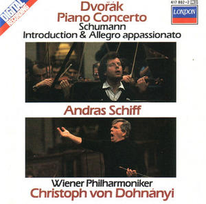 Dvorak: Piano Concerto, Schumann: Introduction & Allegro Appassionato album cover