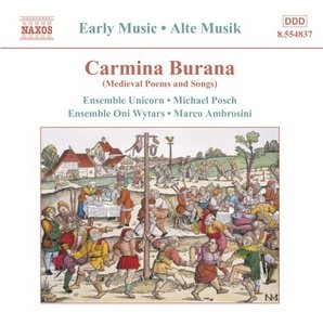 Carmina Burana: Midieval Poems And Songs album cover