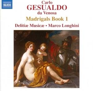 Gesualdo: Madrigals Book I album cover