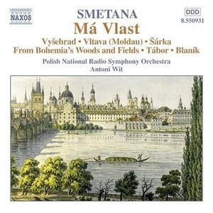 Smetana-Ma Vlast (My Country) album cover