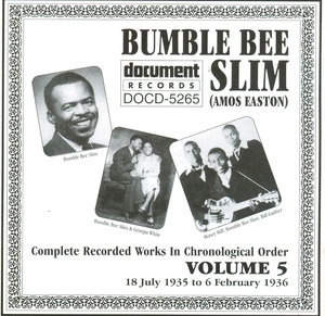 Complete Recorded Works-Vol.5 (1935-1936) album cover