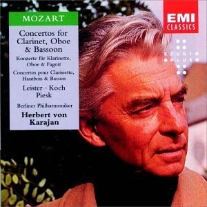 Mozart: Concertos For Oboe, Bassoon & Clarinet album cover