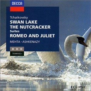 Tchaikovsky: Swan Lake, The Nutcracker, Romeo And Juliet album cover