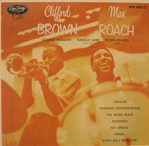 Clifford Brown And Max Roach album cover