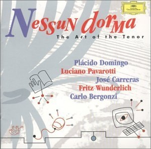 Nessun Dorma: The Art Of The Tenor album cover