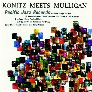 Konitz Meets Mulligan album cover