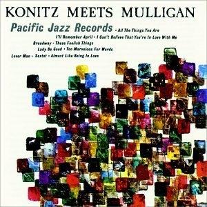 Konitz Meets Mulligan album cover
