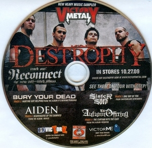 Victory Metal: New Heavy Music Sampler album cover