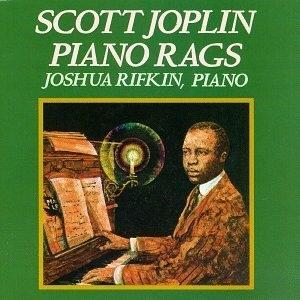 Scott Joplin Piano Rags album cover