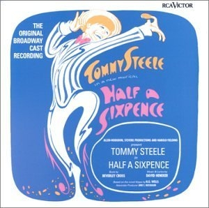 Half a Sixpence (1965 Original Broadway Cast)  album cover