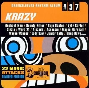 Greensleeves Rhythm Album #37: Krazy album cover