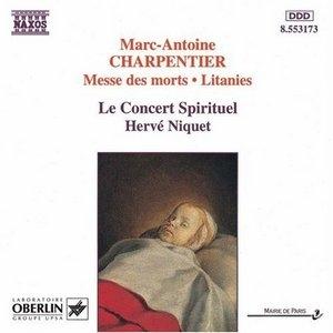 Charpentier: Messe Des Morts~ Litanies album cover