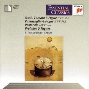 JS Bach: Toccata And Fugue, Passacaglia And Fugue album cover