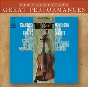 Tchaikovsky: Violin Concerto, Mendelssohn: Violin Concerto album cover