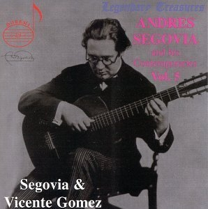 Segovia And His Contemporaries Vol.5 album cover