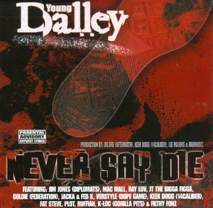 Never Say Die album cover