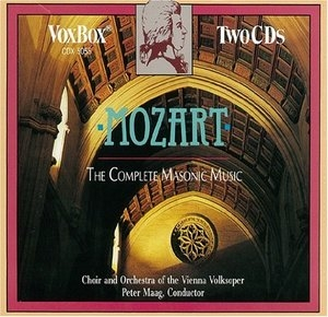 Mozart: The Complete Masonic Music album cover