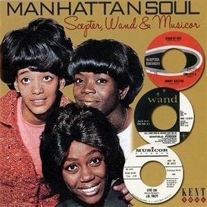 Manhattan Soul: Scepter, Wand & Musicor album cover