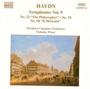 Haydn: Symphonies Nos. 22, 29 & 60 album cover