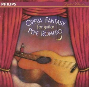 Opera Fantasy For Guitar album cover