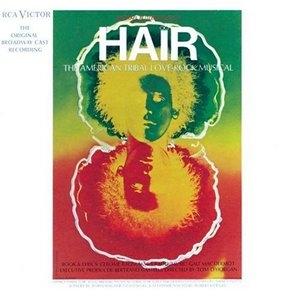 Hair: The American Tribal Love Rock Musical (1968 Original Broadway Cast) album cover