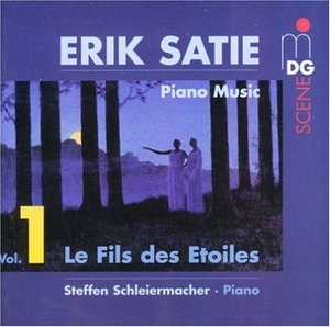 Satie: Piano Music, Vol.1 album cover