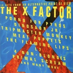 The X Factor album cover