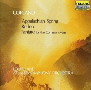 Copland: Appalachian Spring~ Rodeo~ Fanfare For The Common Man album cover