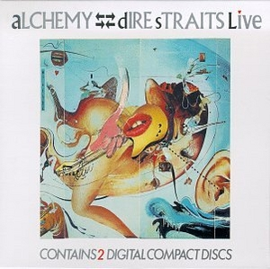 Alchemy: Dire Straits Live album cover