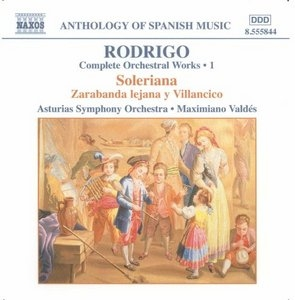 Rodrigo: Complete Orchestral Works Vol.1 album cover