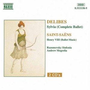 Delibes: Sylvia~ Saint-Saens: Henry VIII album cover