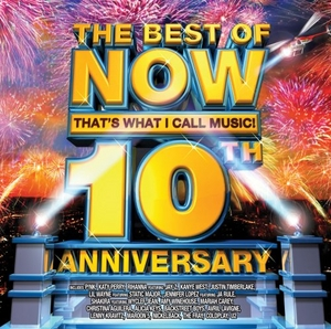 The Best of Now That's What I Call Music! 10th Anniversary album cover
