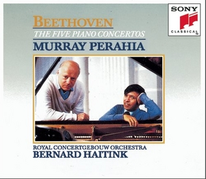 Beethoven: The Five Piano Concertos album cover