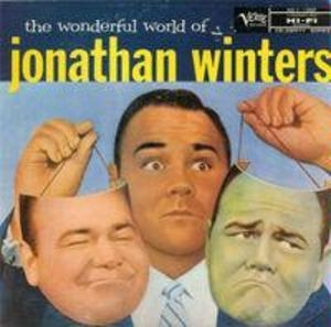 The Wonderful World Of Jonathan Winters album cover