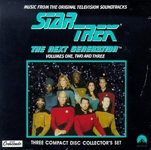 Star Trek: The Next Generation (Music From The Original Television Soundtrack) album cover