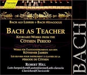 Bach As Teacher album cover
