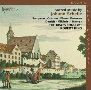 Sacred Music By Johann Schelle album cover