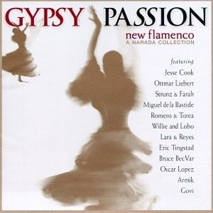 Gypsy Passion-New Flamenco album cover
