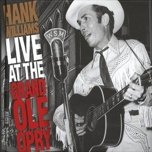 Live At The Grand Ole Opry album cover