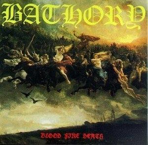 Blood Fire Death album cover