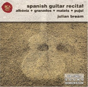 Spanish Guitar Recital: Albéniz, Granados, Malats, Pujol album cover