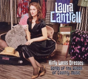 Kitty Wells Dresses: Songs Of The Queen Of Country Music album cover