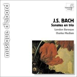 JS Bach: Sonates En Trio album cover