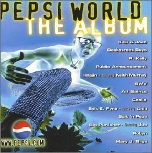 Pepsi World-The Album album cover