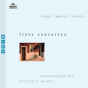 Vivaldi, Mancini, Barbella: Flute Concertos album cover