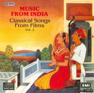 Music From India: Classical Songs From Films-Vol. 2 album cover
