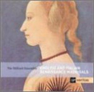 English And Italian Renaissance Madrigals album cover