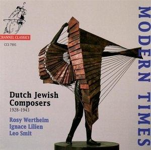 Modern Times: Dutch Jewish Composers album cover