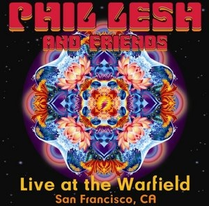 Live At The Warfield album cover