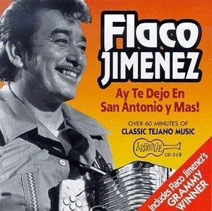 Ay Te Dejo En San Antonio album cover
